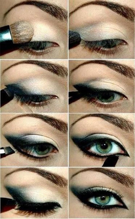 12-Simple-Summer-Eye-Make-Up-Tutorials-2014-For-Beginners-Learners-10
