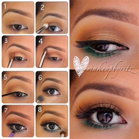 12-Simple-Summer-Eye-Make-Up-Tutorials-2014-For-Beginners-Learners-13