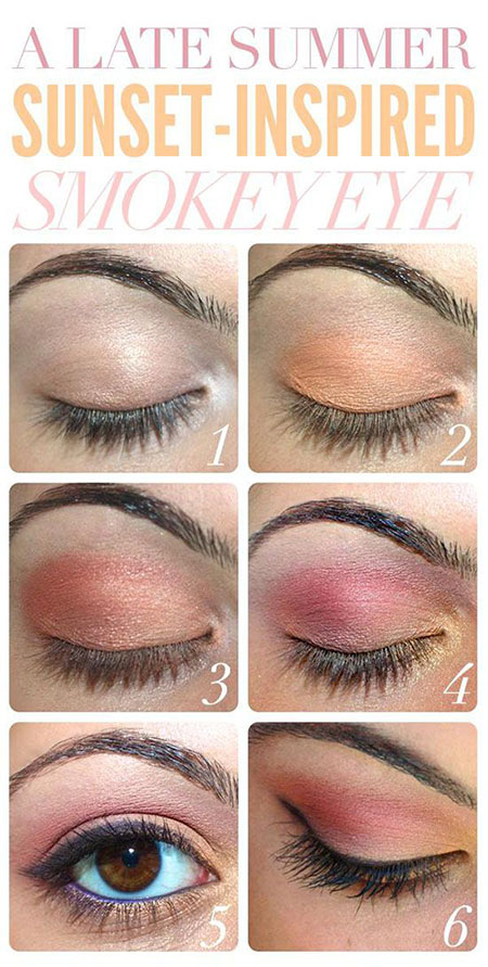 12-Simple-Summer-Eye-Make-Up-Tutorials-2014-For-Beginners-Learners-3