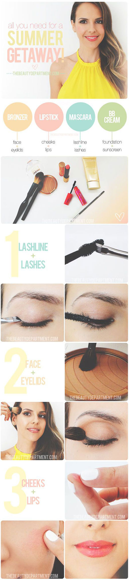 12-Simple-Summer-Eye-Make-Up-Tutorials-2014-For-Beginners-Learners-4
