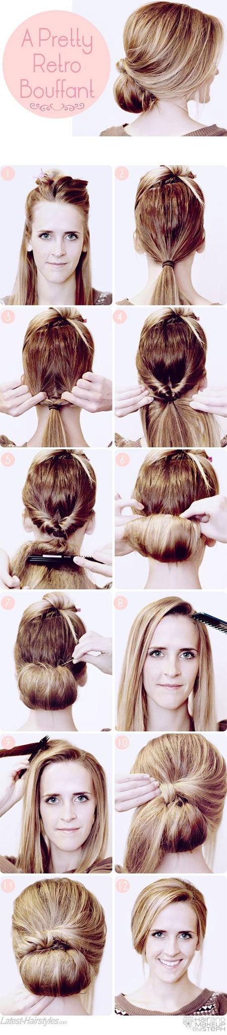 Astonishing 25 Fun Amp Quick Spring Amp Summer Hairstyle Tutorials 2014 For Hairstyles For Women Draintrainus