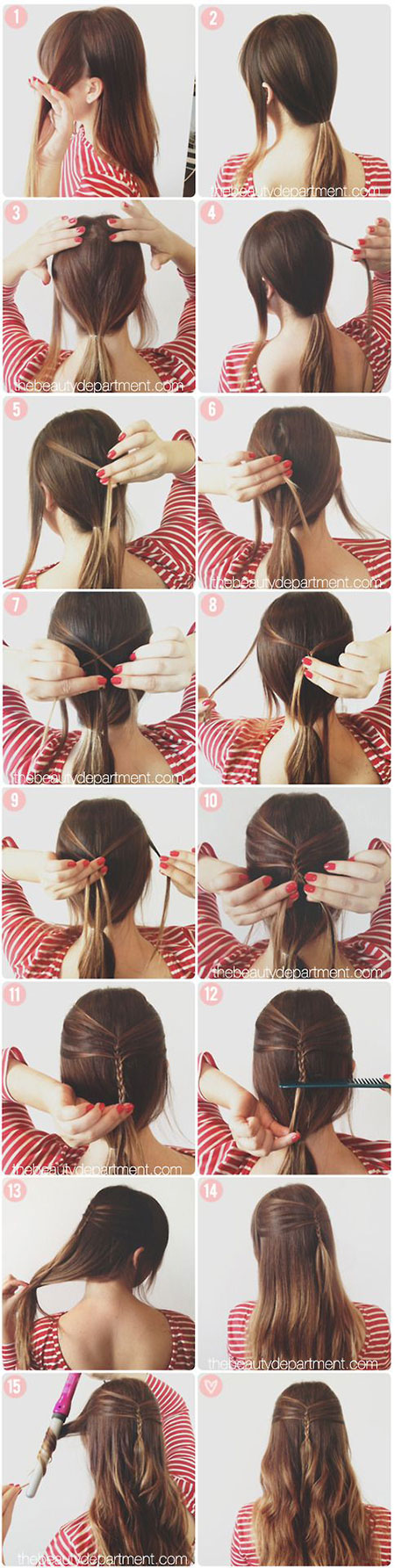 25-Fun-Quick-Spring-Summer-Hairstyle-Tutorials-2014-For-Girls-Women-12
