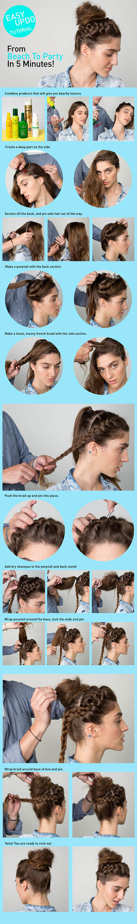 25-Fun-Quick-Spring-Summer-Hairstyle-Tutorials-2014-For-Girls-Women-20