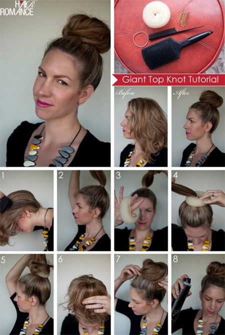 Tremendous 25 Fun Amp Quick Spring Amp Summer Hairstyle Tutorials 2014 For Hairstyles For Women Draintrainus