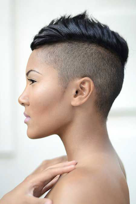 Shaved Hairstyles For Women 2015