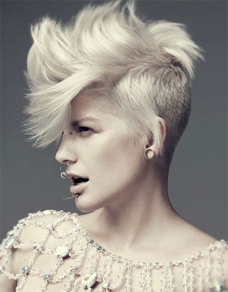 Stupendous 30 New One Sided Shaved Hairstyles Amp Haircuts For Girls Amp Women Hairstyles For Women Draintrainus