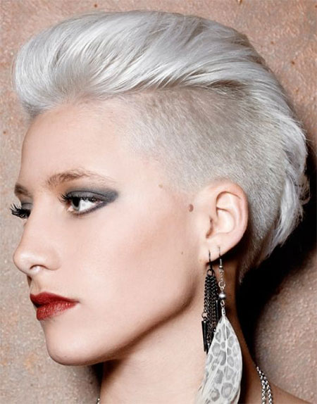 30 New One Sided Shaved Hairstyles Amp Haircuts For Girls