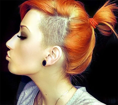 Remarkable 30 New One Sided Shaved Hairstyles Amp Haircuts For Girls Amp Women Short Hairstyles Gunalazisus