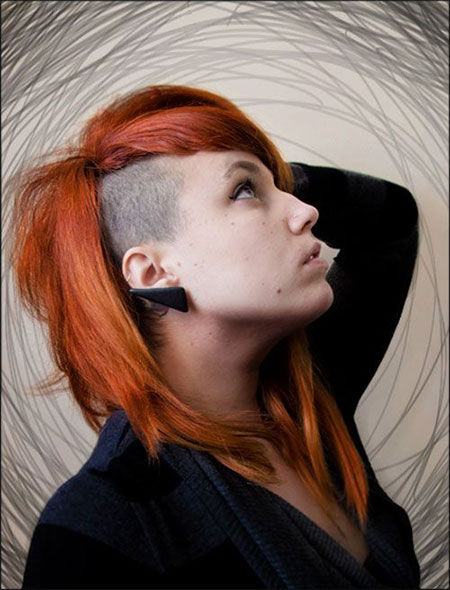 Cool 30 New One Sided Shaved Hairstyles Amp Haircuts For Girls Amp Women Short Hairstyles For Black Women Fulllsitofus