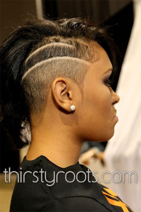 Stupendous 30 New One Sided Shaved Hairstyles Amp Haircuts For Girls Amp Women Short Hairstyles For Black Women Fulllsitofus