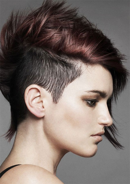 Awe Inspiring 30 New One Sided Shaved Hairstyles Amp Haircuts For Girls Amp Women Short Hairstyles For Black Women Fulllsitofus