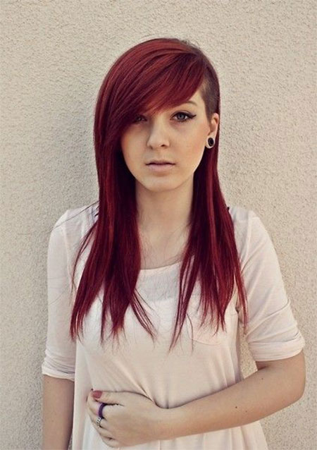 Enjoyable 30 New One Sided Shaved Hairstyles Amp Haircuts For Girls Amp Women Short Hairstyles Gunalazisus
