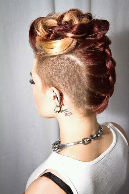 Wondrous 30 New One Sided Shaved Hairstyles Amp Haircuts For Girls Amp Women Short Hairstyles For Black Women Fulllsitofus