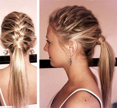 Remarkable Quick Easy Braided Hairstyles For Long Hair Easy Casual Hairstyle Inspiration Daily Dogsangcom