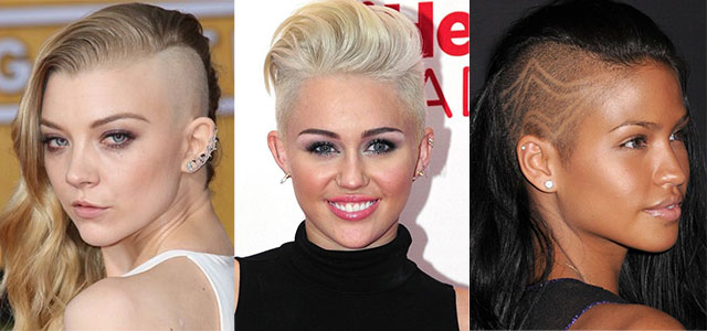 Female-Celebrities-With-Shaved-Hairstyles-Haircuts-Trends-Looks-2014