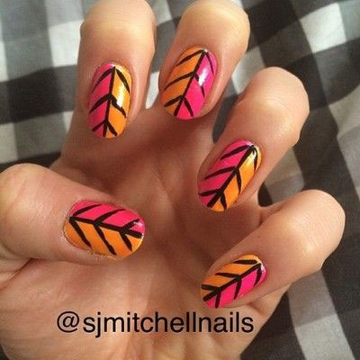 25-Easy-Fall-Nail-Art-Designs-Ideas-Trends-Stickers-2014-Fall-Nails-15