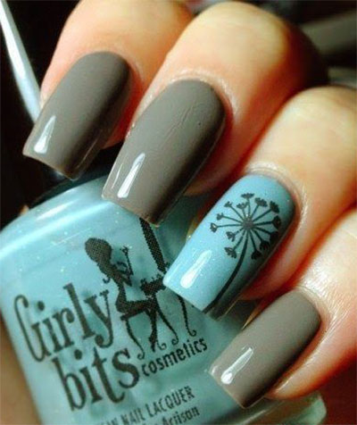 25-Easy-Fall-Nail-Art-Designs-Ideas-Trends- - 25 Easy Fall Nail Art Designs, Ideas, Trends & Stickers 2014 Fall