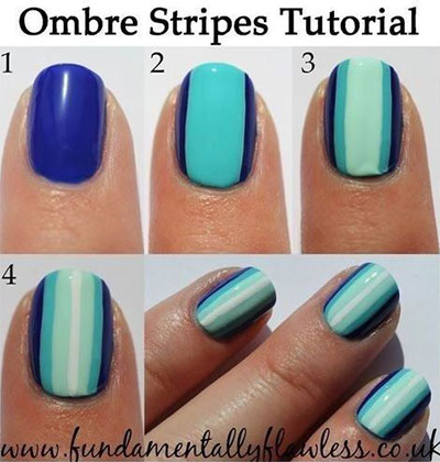 25-Very-Easy-Simple-Step-By-Step-Nail-Art-Tutorials-For-Beginners-Learners-2014-13