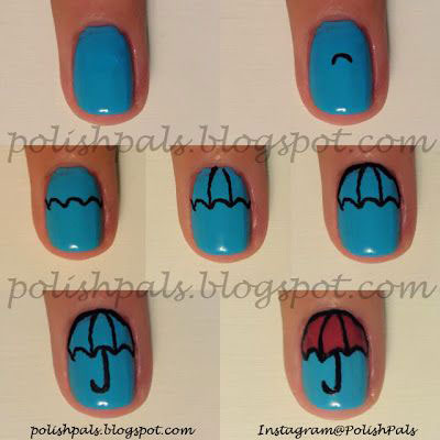 25-Very-Easy-Simple-Step-By-Step-Nail-Art-Tutorials-For-Beginners-Learners-2014-14