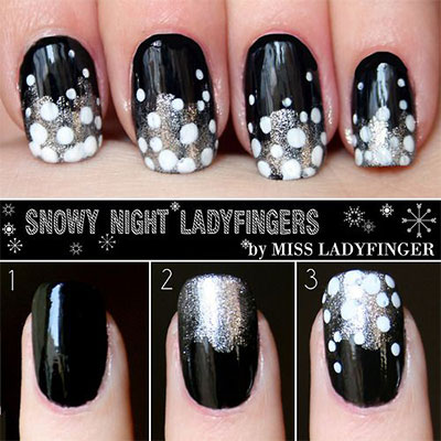 25-Very-Easy-Simple-Step-By-Step-Nail-Art-Tutorials-For-Beginners-Learners-2014-15