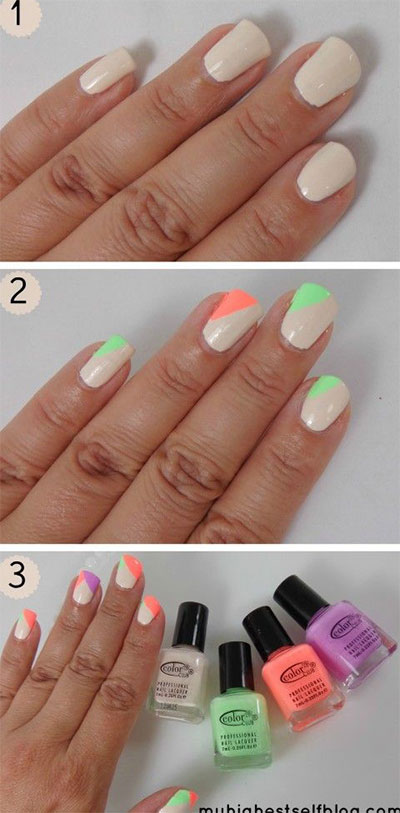 25-Very-Easy-Simple-Step-By-Step-Nail-Art-Tutorials-For-Beginners-Learners-2014-16