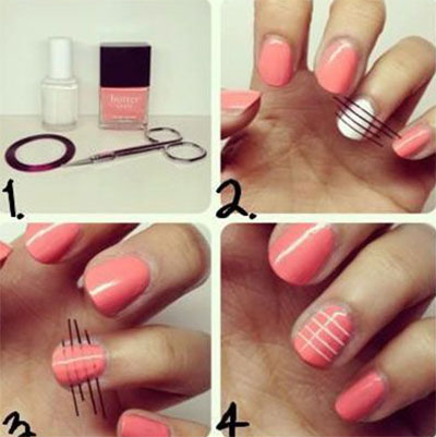 25-Very-Easy-Simple-Step-By-Step-Nail-Art-Tutorials-For-Beginners-Learners-2014-18