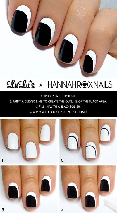 25-Very-Easy-Simple-Step-By-Step-Nail-Art-Tutorials-For-Beginners-Learners-2014-19