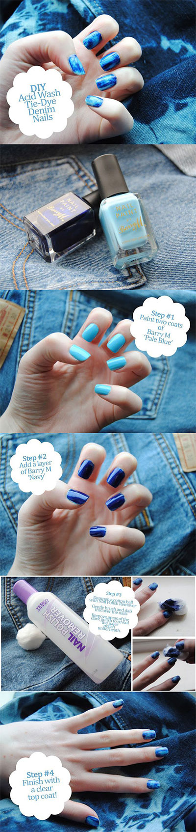 25 Very Easy & Simple Step By Step Nail Art Tutorials For Beginners ...