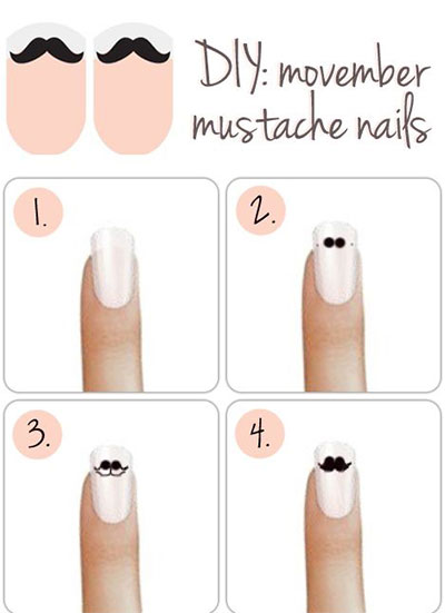 25-Very-Easy-Simple-Step-By-Step-Nail-Art-Tutorials-For-Beginners-Learners-2014-7