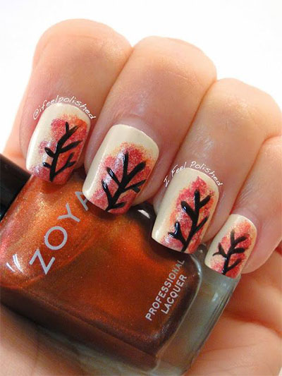 30-Autumn-Tree-Leaf-Nail-Art-Designs-Ideas-Trends-Stickers-2014-Fall-Nails-11