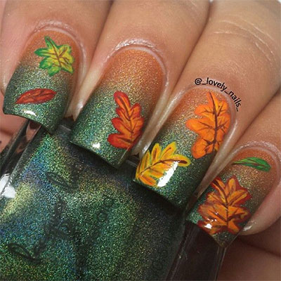 30-Autumn-Tree-Leaf-Nail-Art-Designs-Ideas-Trends-Stickers-2014-Fall-Nails-12