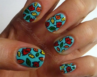 30-Autumn-Tree-Leaf-Nail-Art-Designs-Ideas-Trends-Stickers-2014-Fall-Nails-17