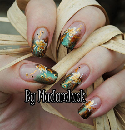 30-Autumn-Tree-Leaf-Nail-Art-Designs-Ideas-Trends-Stickers-2014-Fall-Nails-19
