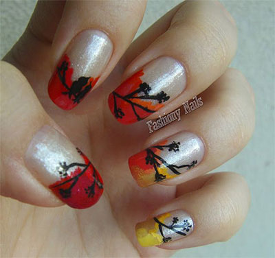 30-Autumn-Tree-Leaf-Nail-Art-Designs-Ideas-Trends-Stickers-2014-Fall-Nails-20