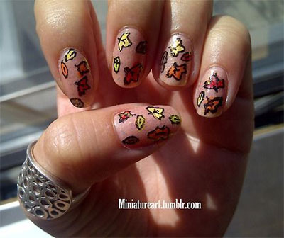 30-Autumn-Tree-Leaf-Nail-Art-Designs-Ideas-Trends-Stickers-2014-Fall-Nails-22
