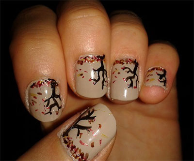 30-Autumn-Tree-Leaf-Nail-Art-Designs-Ideas-Trends-Stickers-2014-Fall-Nails-26