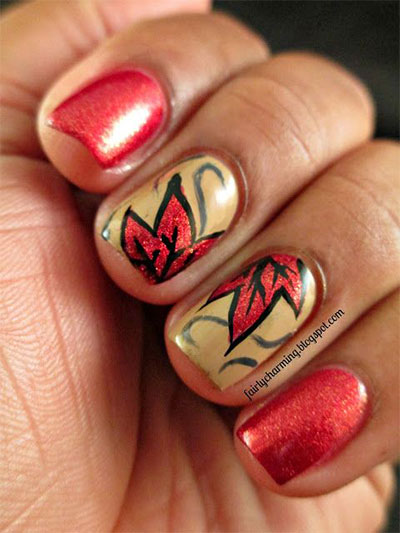 30-Autumn-Tree-Leaf-Nail-Art-Designs-Ideas-Trends-Stickers-2014-Fall-Nails-3