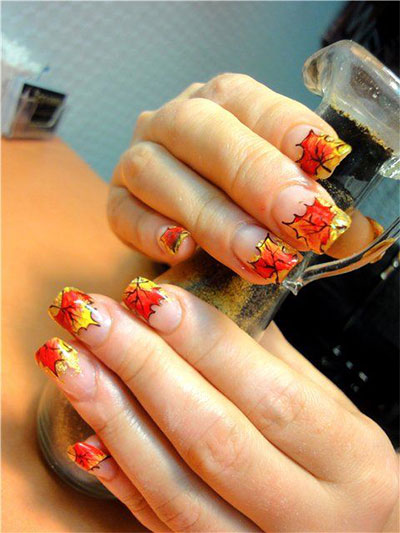 30-Autumn-Tree-Leaf-Nail-Art-Designs-Ideas-Trends-Stickers-2014-Fall-Nails-30