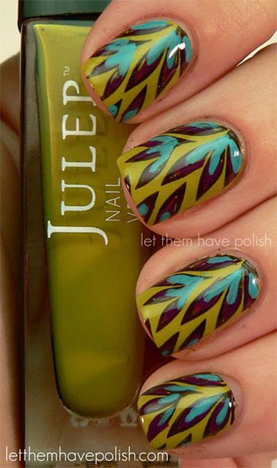 30-Autumn-Tree-Leaf-Nail-Art-Designs-Ideas-Trends-Stickers-2014-Fall-Nails-6