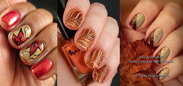30 Autumn Tree Leaf Nail Art Designs Ideas Trends Stickers 2017 Fall Nails Shue
