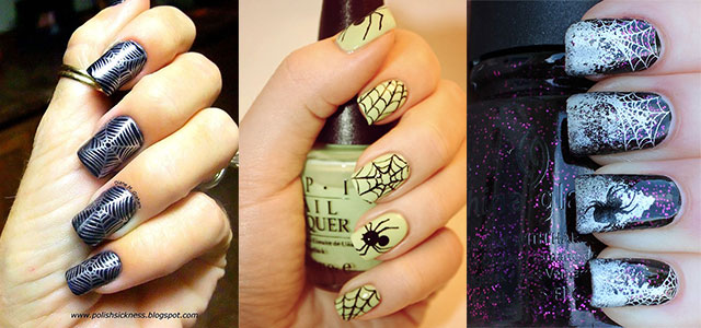 10-Scary-Halloween-Spider-Web-Nail-Art-Designs-Ideas-Stickers-2014