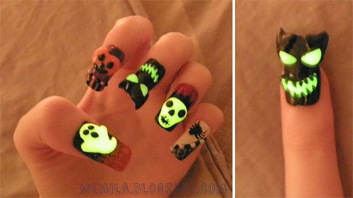 15-Amazing-Yet-Scary-3D-Halloween-Nail Art-Designs-Ideas-Trends-Stickers-2014-10