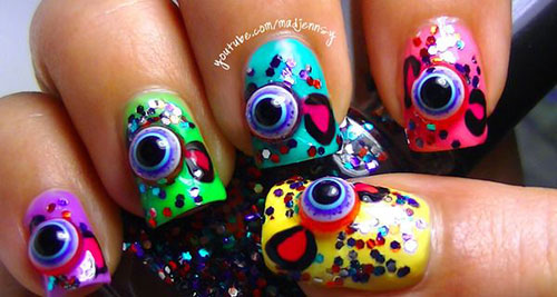 15-Amazing-Yet-Scary-3D-Halloween-Nail Art-Designs-Ideas-Trends-Stickers-2014-12