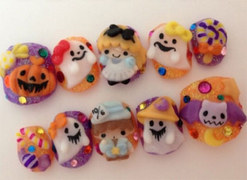 15-Amazing-Yet-Scary-3D-Halloween-Nail Art-Designs-Ideas-Trends-Stickers-2014-13