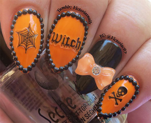 15-Amazing-Yet-Scary-3D-Halloween-Nail Art-Designs-Ideas-Trends-Stickers-2014-5