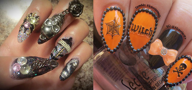 15-Amazing-Yet-Scary-3D-Halloween-Nail Art-Designs-Ideas-Trends-Stickers-2014