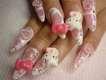 15-Best-Hello-Kitty-3D-Nail-Art-Designs-Ideas-Trends-Stickers-2014-1