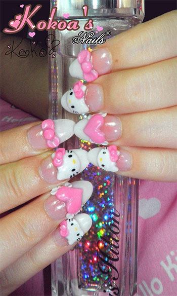 15-Best-Hello-Kitty-3D-Nail-Art-Designs-Ideas-Trends-Stickers-2014-13