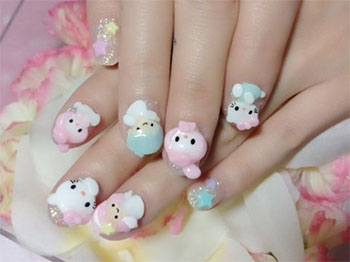 15-Best-Hello-Kitty-3D-Nail-Art-Designs-Ideas-Trends-Stickers-2014-6