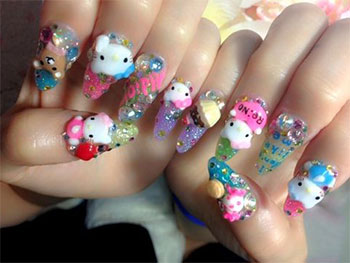15-Best-Hello-Kitty-3D-Nail-Art-Designs-Ideas-Trends-Stickers-2014-9